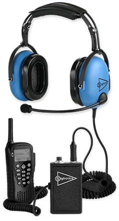 Sigtronics Portable Radio Adapter and SE-48 Headset