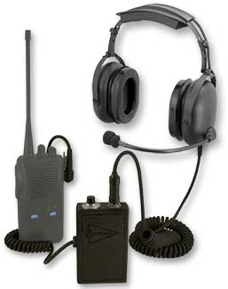 Sigtronics Portable Radio Adapter and ST-48 Headset